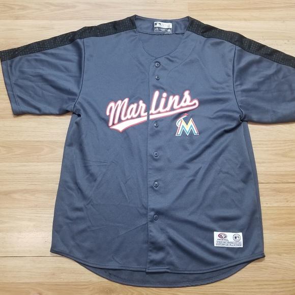 100% authentic c42d6 153f0 Vintage Miami Marlins Jersey Men's Size Large